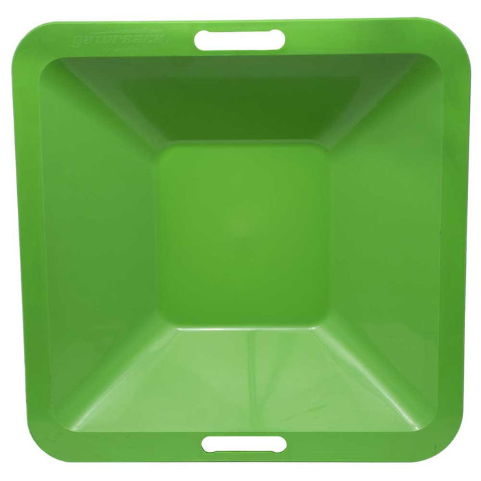 Gatorback® Mortar Mixing Pan, top view