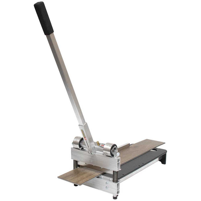 Bullet Tools Sharpshooter Pro cutting through wood plank flooring