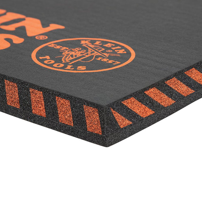 "Klein Tools Tradesman Pro Large Kneeling Pad 1"" thick foam"