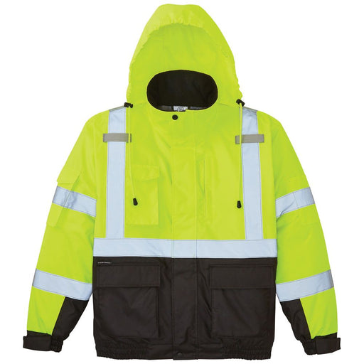 Klein Tools High-Visibility Winter Bomber Jacket