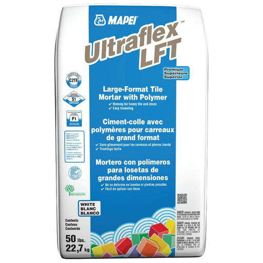 Mapei Ultraflex LFT Large-Format Tile Mortar with Polymer