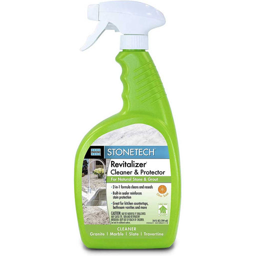 StoneTech Revitalizer Cleaner & Protector, Citrus Scented 24 oz spray bottle