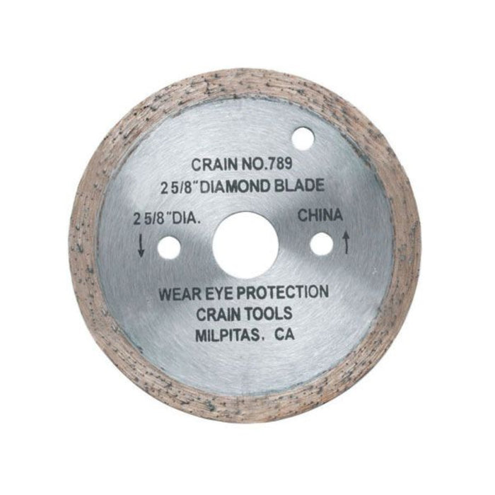 "Crain Tools 789 2-5/8"" Diamond Blade"