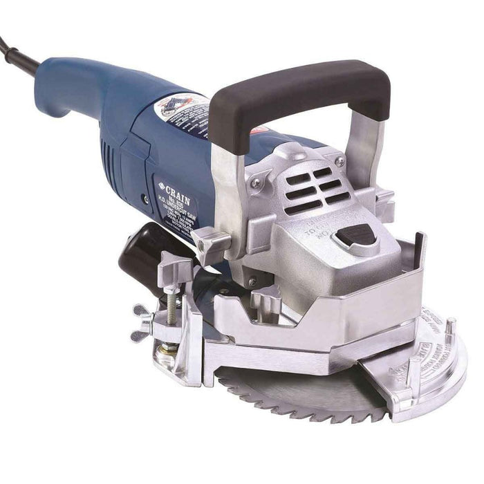 Crain 835 jamb saw used to undercut walls, jambs, inside corners, and even some toe-spaces