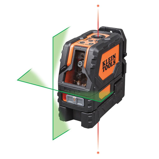 Klein Tools Self-Leveling Green Cross-Line Laser Level, 93LCLG
