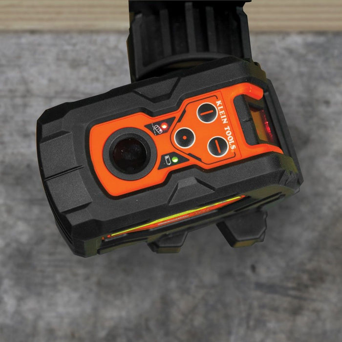 Klein Tools Self-Leveling Cross-Line Laser Level top view