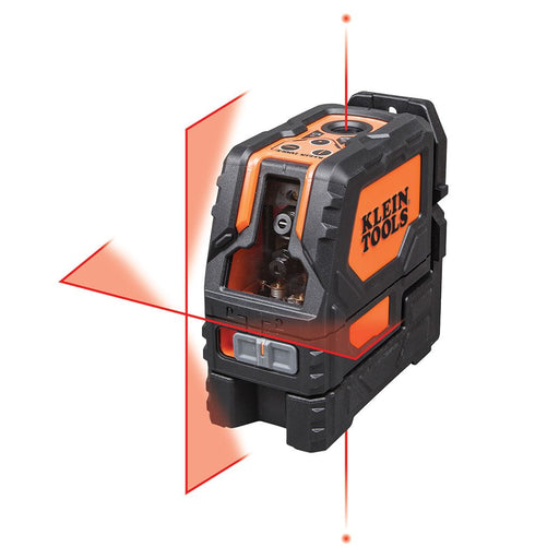 Klein Tools Self-Leveling Cross-Line Laser Level with Plumb Spot, 93LCLS