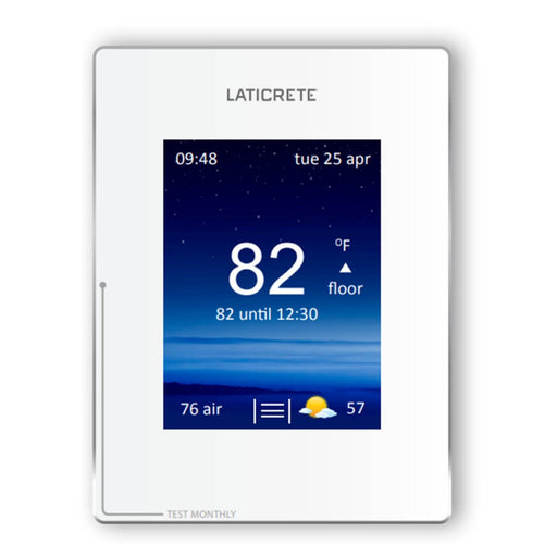 Laticrete Strata Heat Smart Wifi Thermostat