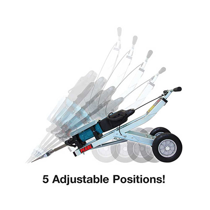Pearl Abrasive Easy Hammer Trolley with 5 adjustable positions