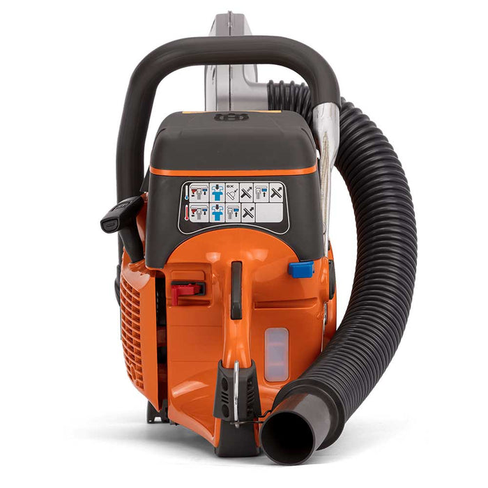 Husqvarna K 770 VAC Gas Power Cutter, rear view