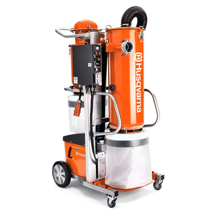 Husqvarna DC 6000 Industrial Dust Collector, side view