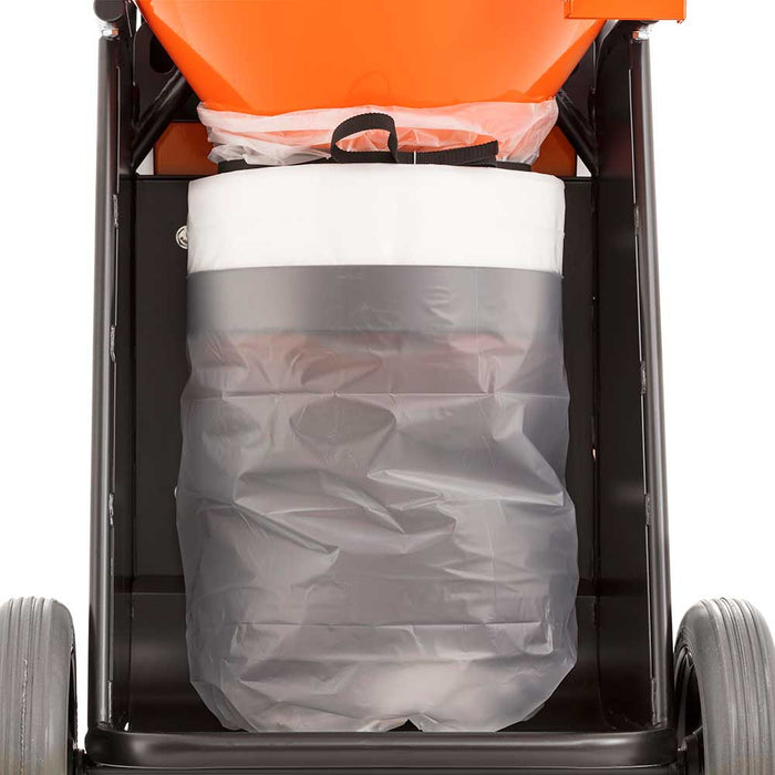 Husqvarna dust extractor with Longopack replaceable bags
