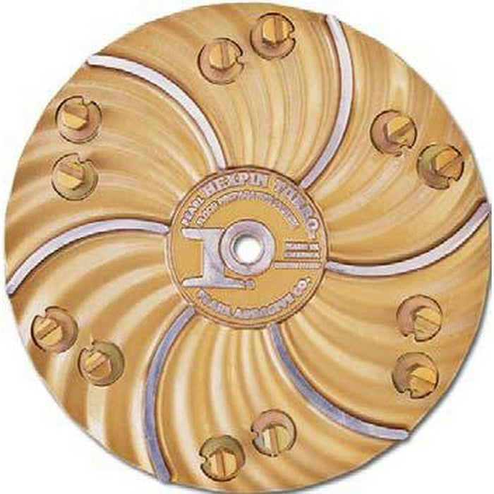 "Pearl Abrasive 15"" Hexpin Hexplates with 12 Diamond EZ Pads"