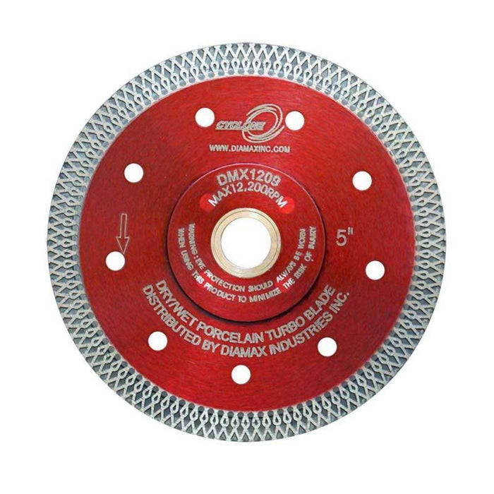 Diamax Cyclone blades used for cutting hard porcelain and tile