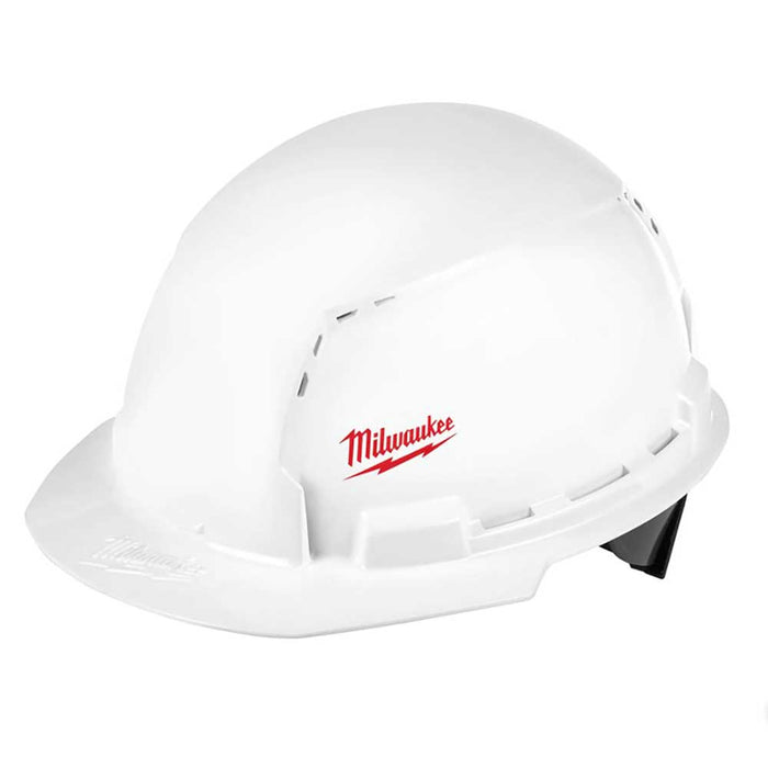 Milwaukee Tool Front Brim Hard Hats - Vented, Small logo