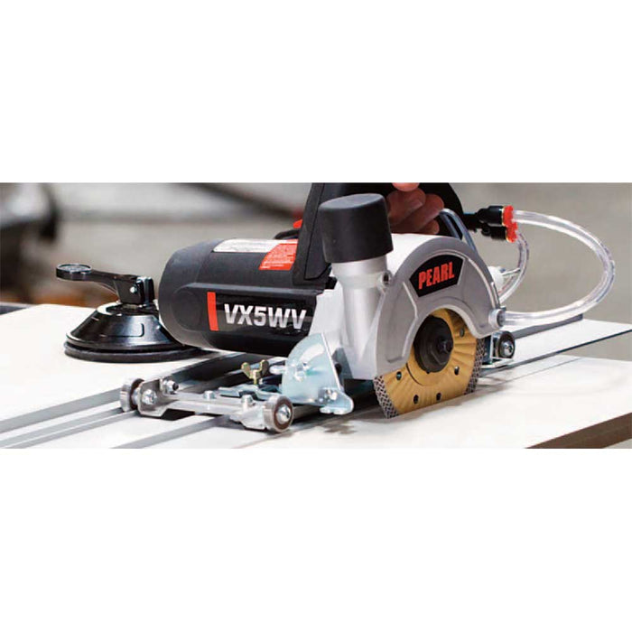 "Pearl Abrasive VX5WV 5"" Hand Held Saw with turbo blade"