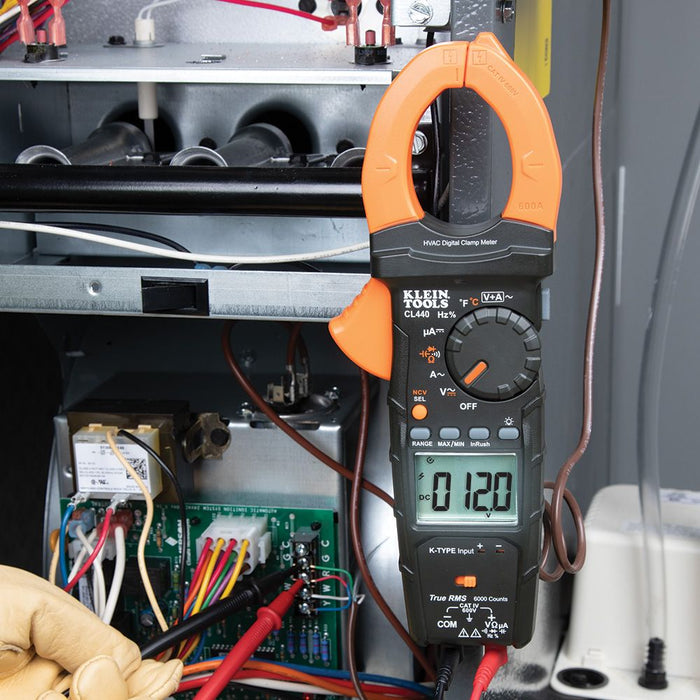 Klein Tools HVAC Clamp Meter