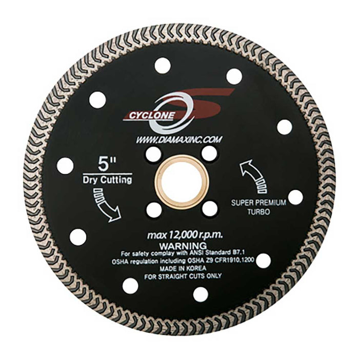 "Diamax Cyclone S Arrowtek 5"" Turbo Diamond Blade"