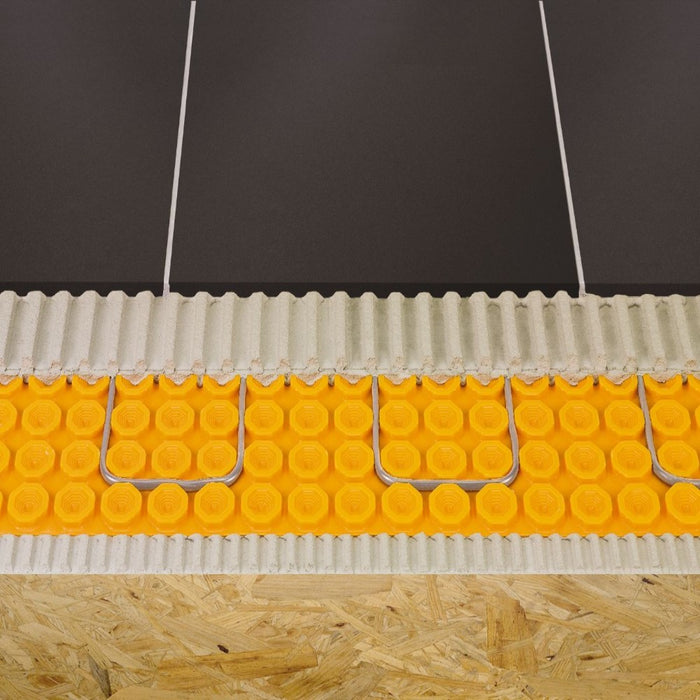 Schluter Ditra Heat can be used as a radiant heat to keep your floor tile warm