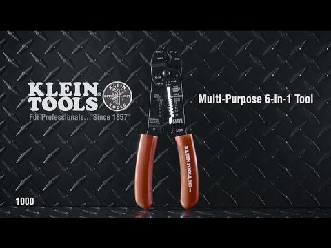 Klein Tools 6-in-1 Multi-Purpose Tool Youtube