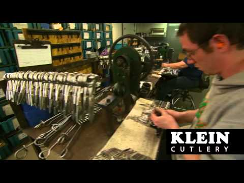 Klein Cutlery Manufacturing Youtube