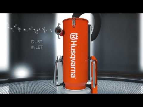 Husqvarna DC 6000 Dust Collector Youtube