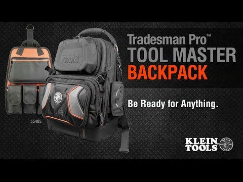 Tradesman Pro Tool Master Backpack, Youtube