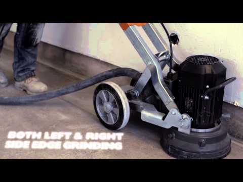 New compact floor grinders from Husqvarna