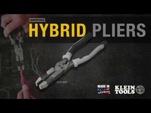 Klein Tools High-Leverage Hybrid Pliers Youtube