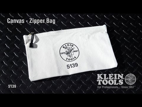 Zipper Canvas Tool Pouch, Youtube