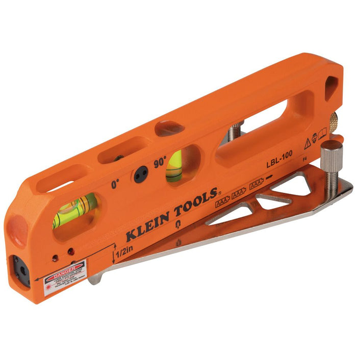 Klein Tools Magnetic Laser Level with Bubble Vials, LBL100