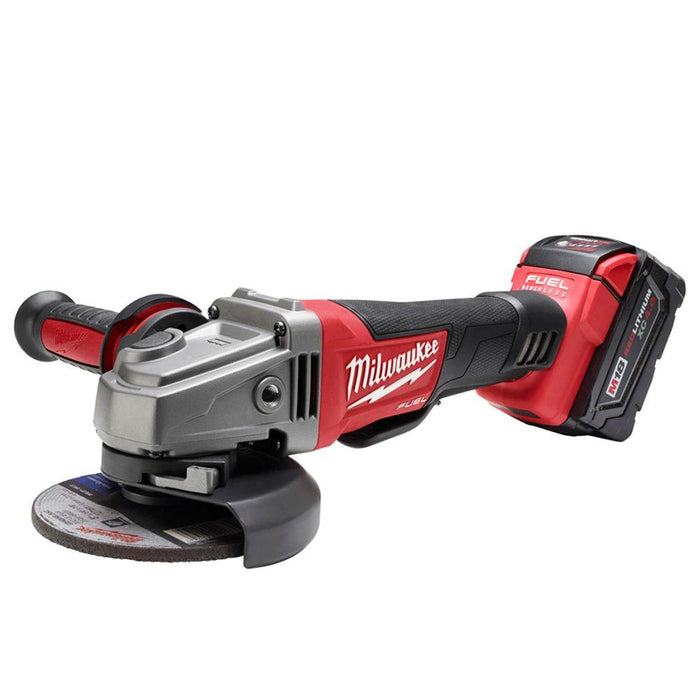 "Milwaukee M18 FUEL™ 5"" Grinder, Paddle Switch"