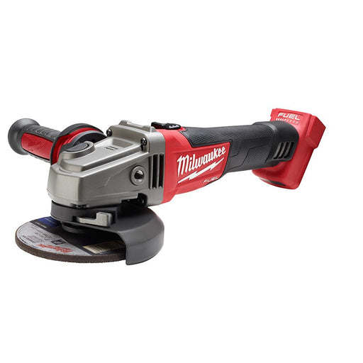 "Milwaukee M18 FUEL™ 4-1/2"" / 5"" Grinder, Slide Switch, Lock-On"