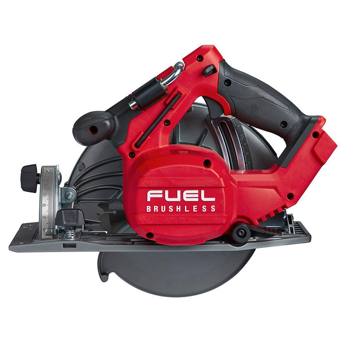 "Milwaukee M18 FUEL™ 7-1/4"" Circular Saw, rear view"