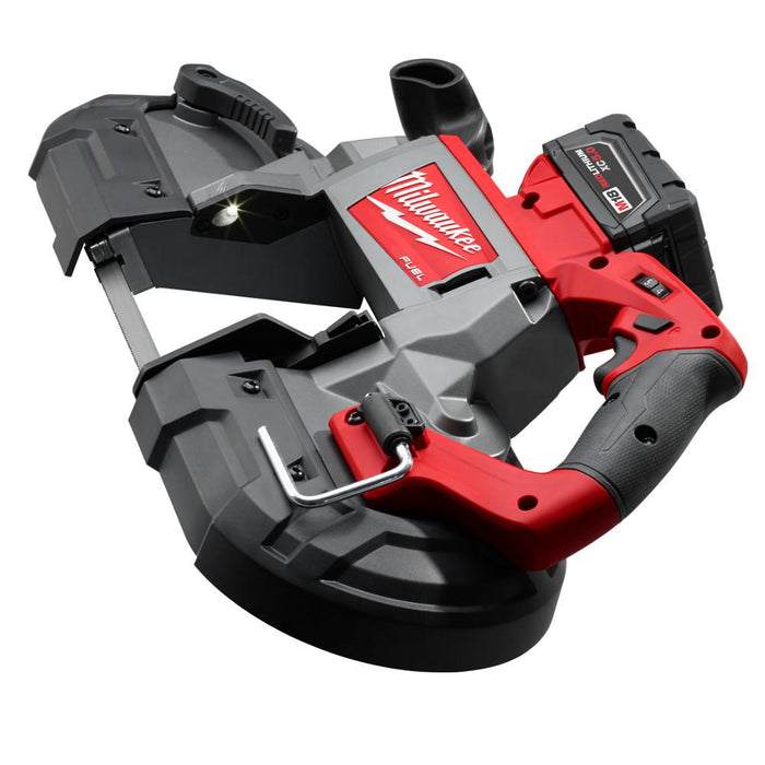 Milwaukee M18 FUEL™ Deep Cut Band Saw top view