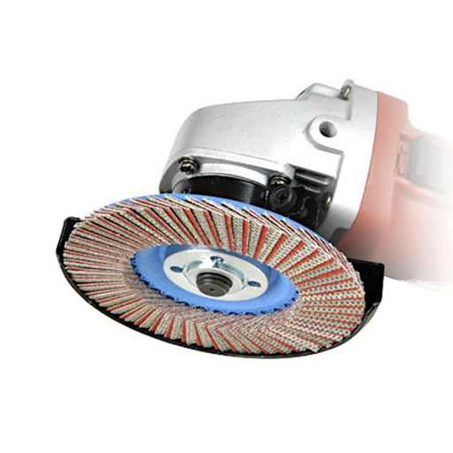 Montolit FLEXIMONT Grinding Wheel on angle grinder