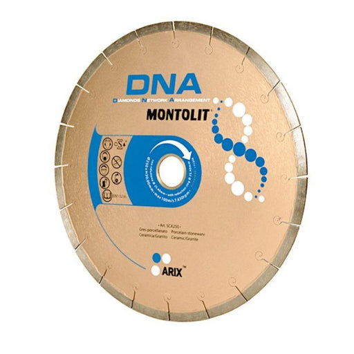 "Montolit SCX250 10"" DNA Porcelain Diamond Blade"