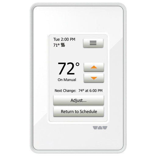 Schluter Programmable Touch Screen Thermostat