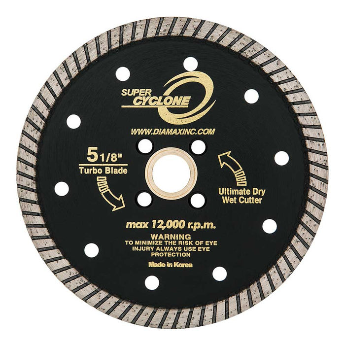 "Diamax Super Cyclone 5"" Turbo Diamond Blade"