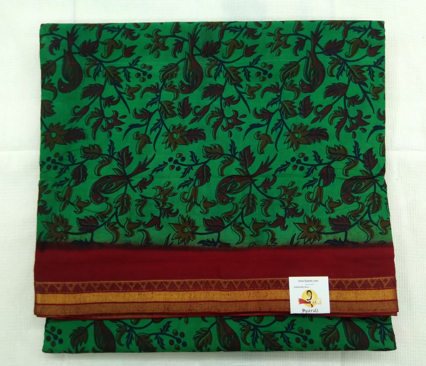 Colour Kalamkari Design- 10.5 yards