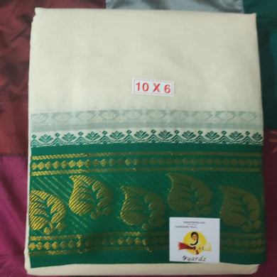 Cotton  Dhothi 10*6