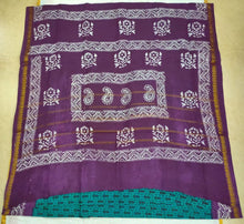 Load image into Gallery viewer, Sungudi cotton 10.5 yards