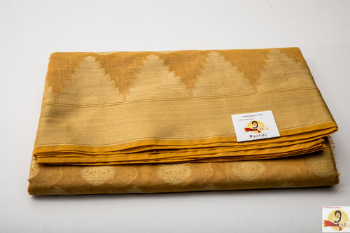 Benarasi Silk Cotton - Golden