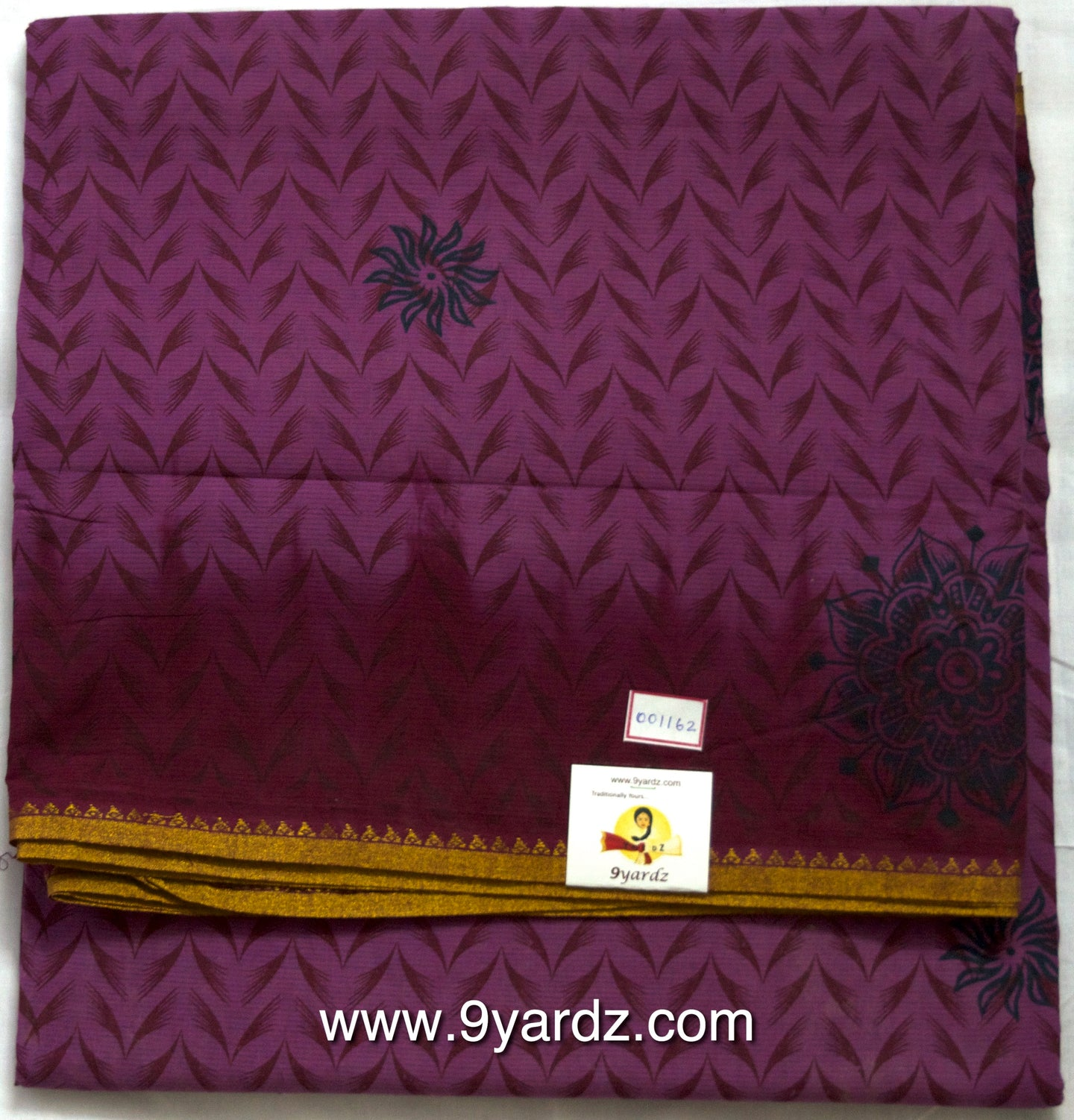 Fancy print - Sungudi 9 yards