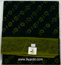 Load image into Gallery viewer, Floral design - Sungudi 9 yards