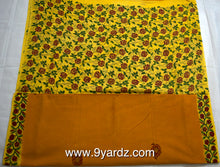 Load image into Gallery viewer, Hand block print - Sungudi 9 yards