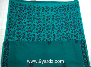Hand block print - Sungudi 9 yards