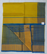 Load image into Gallery viewer, Pure silk cotton- checked pallu