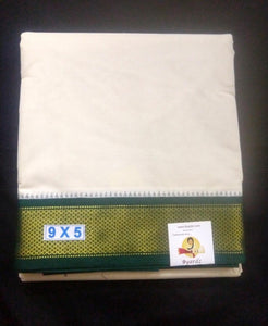 Pure cotton Muhurtham dhoti 9*5