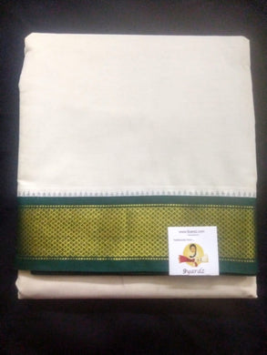 Pure cotton Muhurtham dhoti 10*6